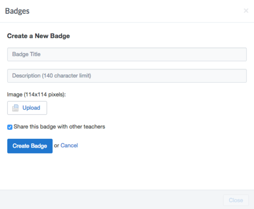 Badges no Edmodo.png